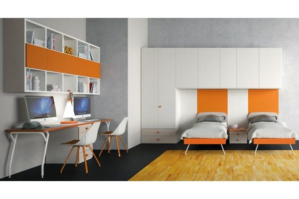 Beautiful camerette ragazzi roma contemporary for Camerette teenager