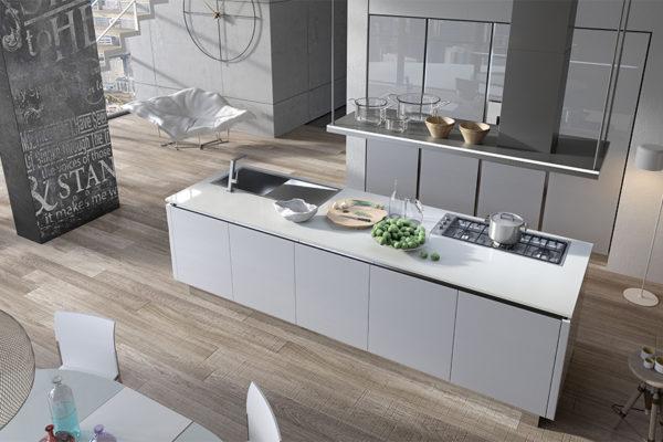 Negozio cucine Aran moderne Roma - Modello Volare