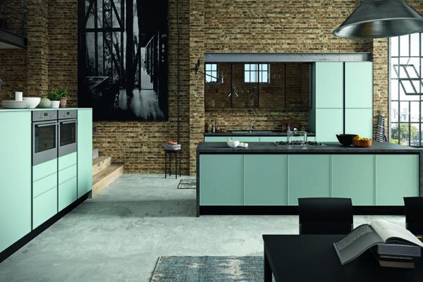 Vendita cucine moderne Aran a Roma - Modello Quadro