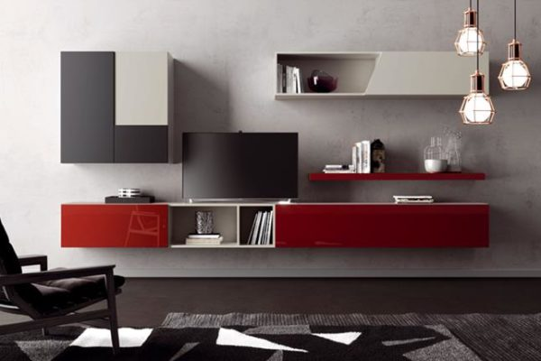vendita pareti attrezzate moderne a roma-0073