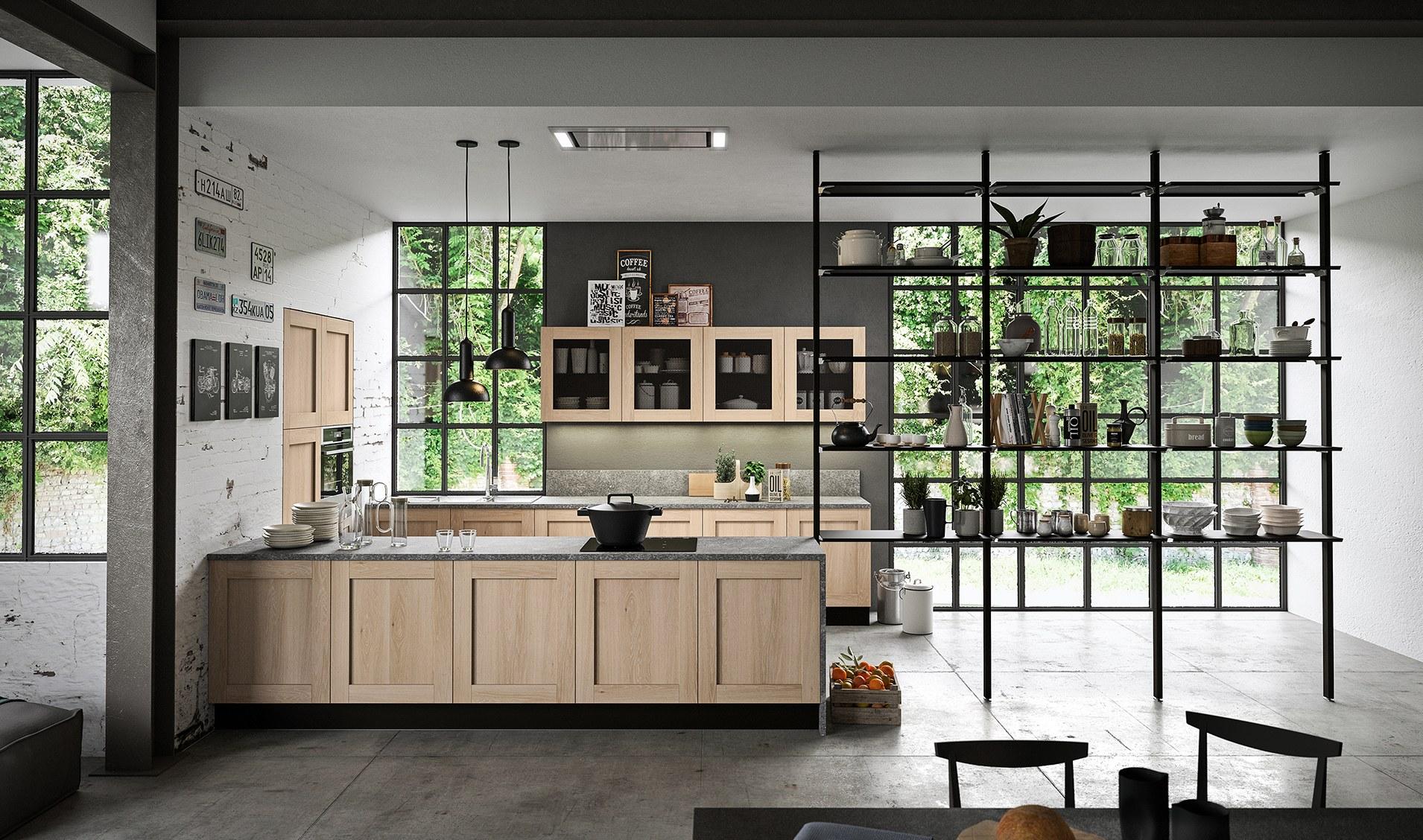 Cucina moderna Aran Licia: fra tradizione innovazione